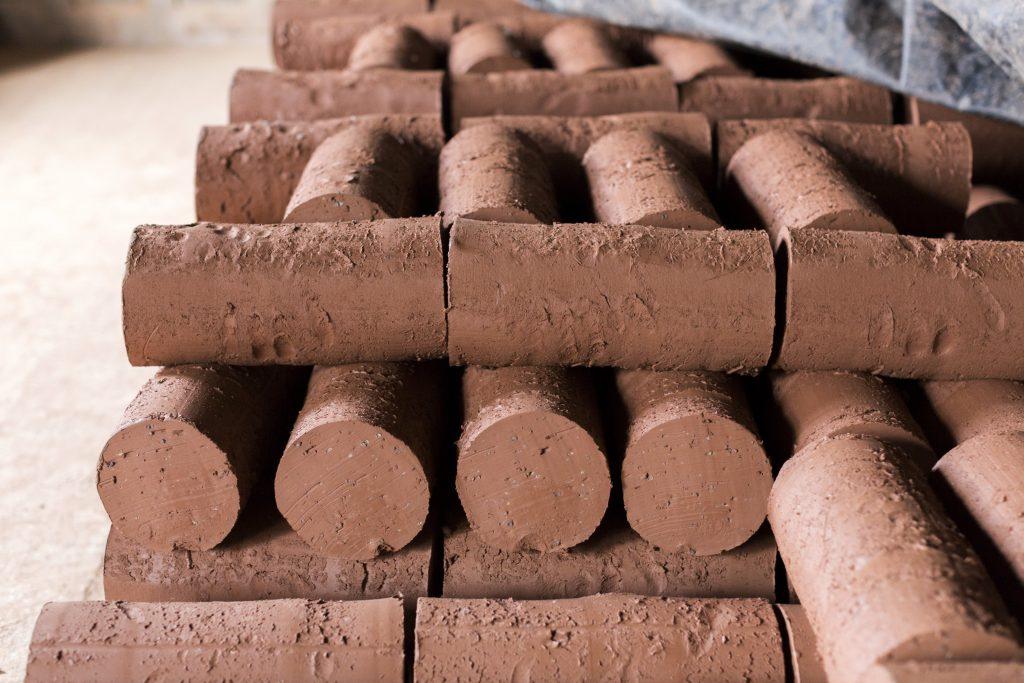 MANUFACTURE DE CARRELAGES DE SAINT SAMSON LA POTERIE les pains de terre