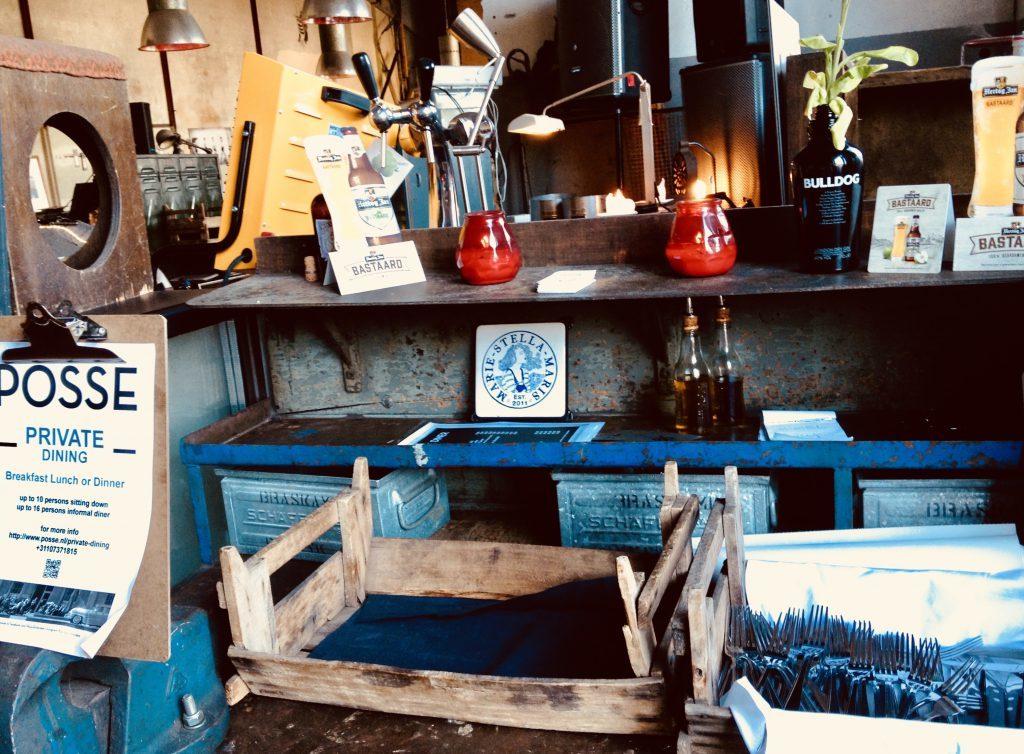 Rotterdam restaurant Posse tout est à vendre