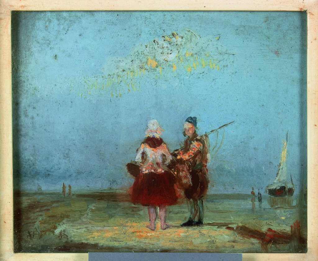 muzee-ostende-toile-couple-pêcheurs-ensor