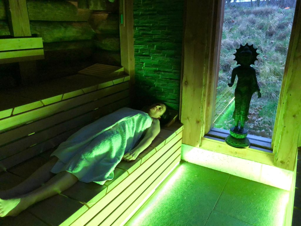 Belgique Roeselaere Thermen R sauna meditatif