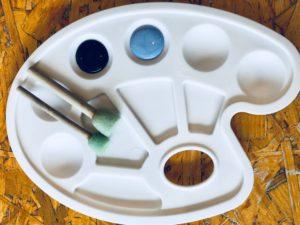 MarcqBaroeul Popcup cafe palette avec peinture