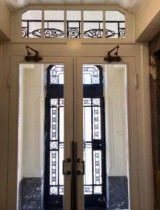Porte d'entrée maison d'hôtes À un train d'ici - Tournai Belgique