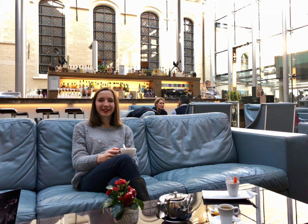 Vue d'ensemble du bar - hôtel Hermitage Lille