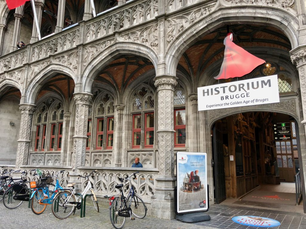 Historium de Bruges Belgique - façade