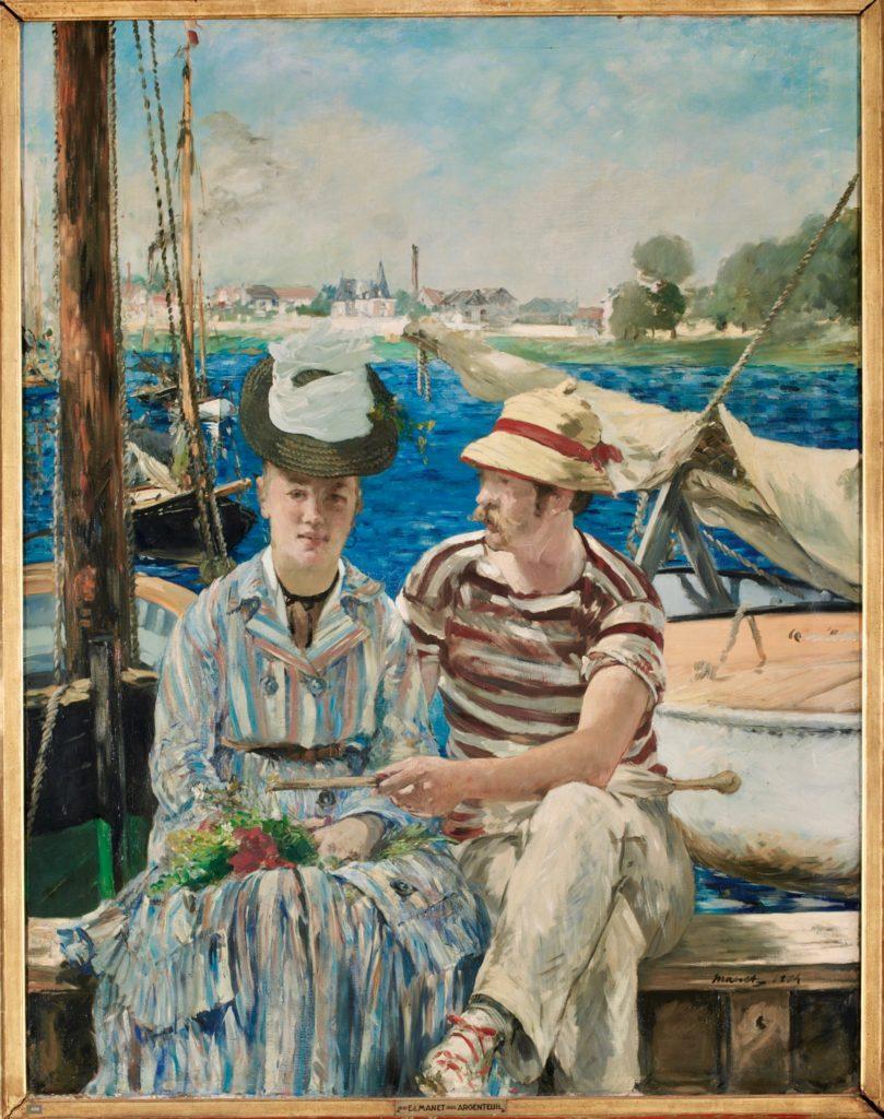 Argenteuil Edouard Manet musée Beaux-Arts Tournai Belgique
