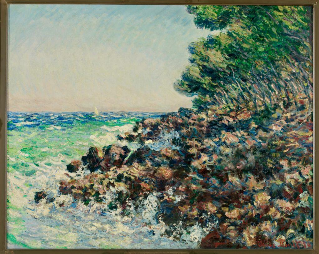 La pointe du cap martin Claude Monet musée des Beaux-arts Tournai Belgique
