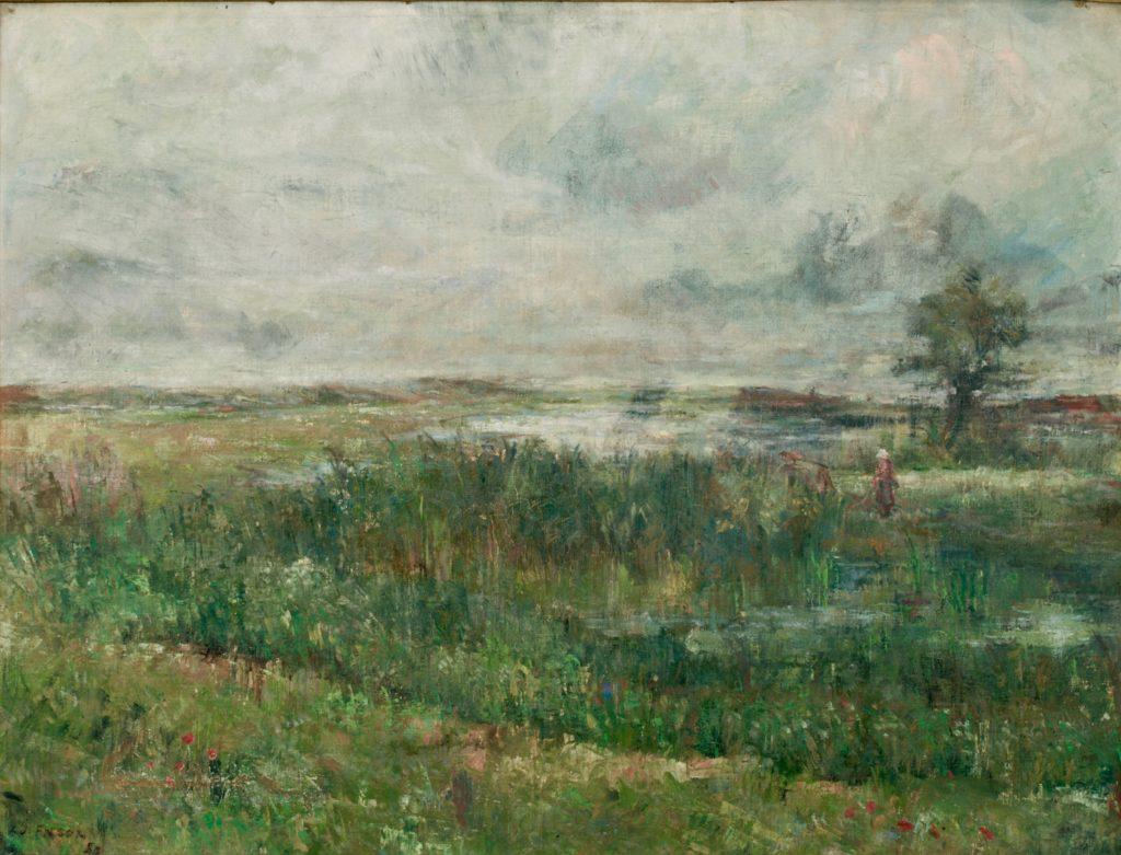 Le Marais James Ensor musée Beaux-Arts Tournai Belgique