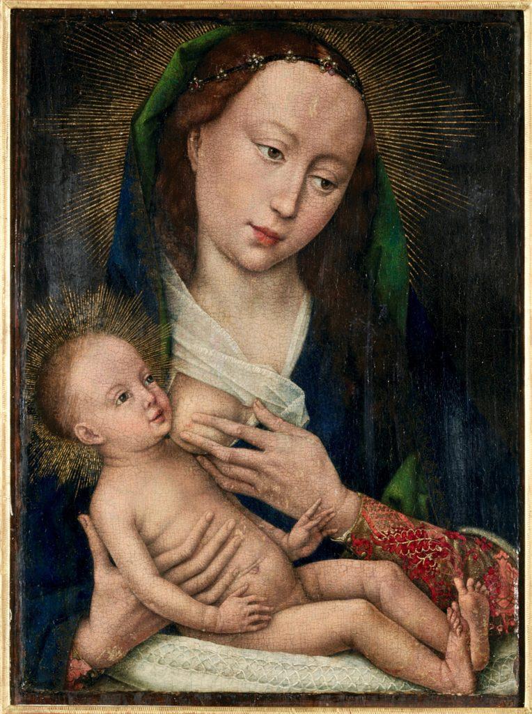 Vierge et enfant Roger de la pasture musée des Beaux-Arts Tournai Belgique