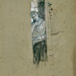 Dessin Toulouse Lautrec musée Beaux-Arts Tournai Belgique