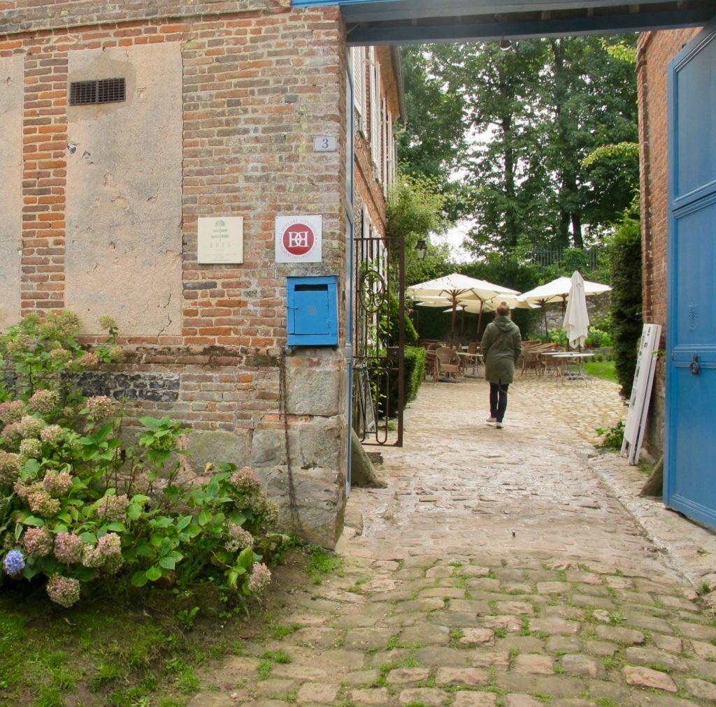 Entrée Jardin des ifs Gerberoy Oise