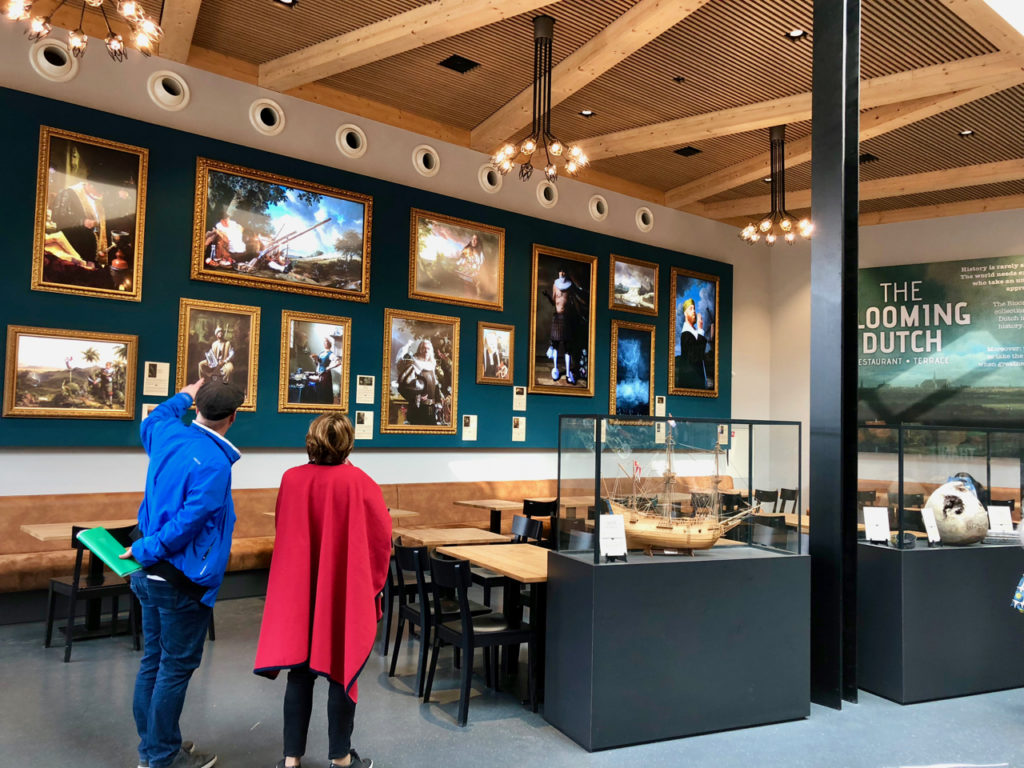Self service restaurant - Keukenhof Pays-Bas