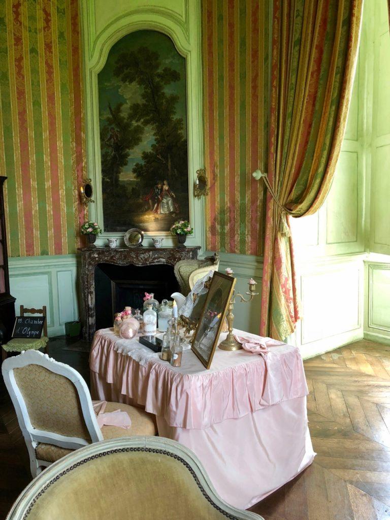 Château Condé-en-Brie - chambre Olympe