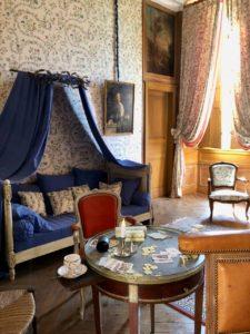 Château de Condé-en-Brie - chambre du chasseur