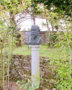 Buste Henri le Sidaner - Jardins Henri le Sidaner Gerberoy Oise