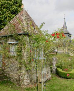 Roseraie - Jardins Henri le Sidaner Gerberoy Oise