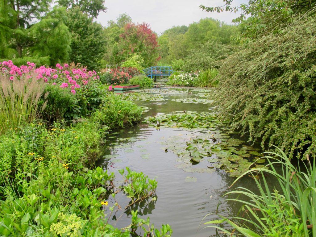 Jardin André van Beek OIse - vue comme Giverny