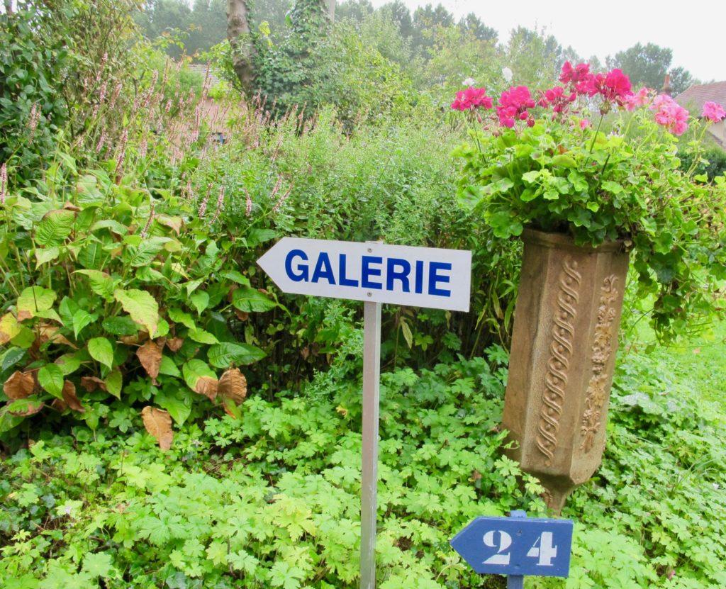 Jardin André van Beek - panneau galerie