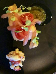 Assiette poisson Restaurant Unique - Gouda Pays-Bas