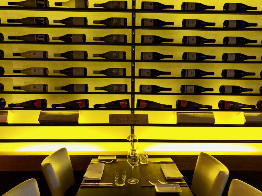 Mur de bouteilles Restaurant Unique- Gouda Pays-Bas