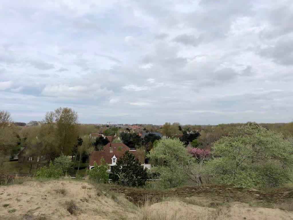 Quartier Dumont vu de haut La Panne Belgique