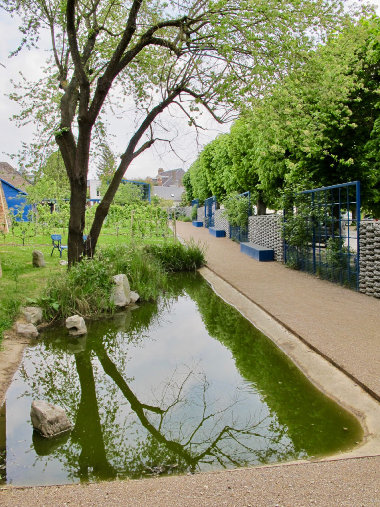 Bassin du Fruticetum - Herbarium Saint-Valery-sur-Somme