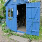 Cabane bleue - Herbarium Saint-Valery-sur-Somme