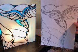 bijoux vitrail tiffany