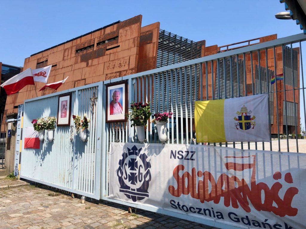 Blog Pologne Gdansk Chantiers navals Solidarnosc