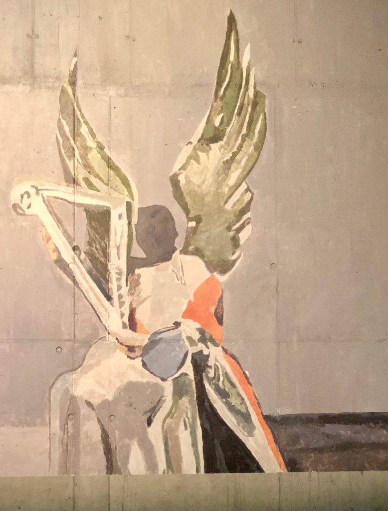 Angel de Luc Tuymans - Concertgebouw Bruges