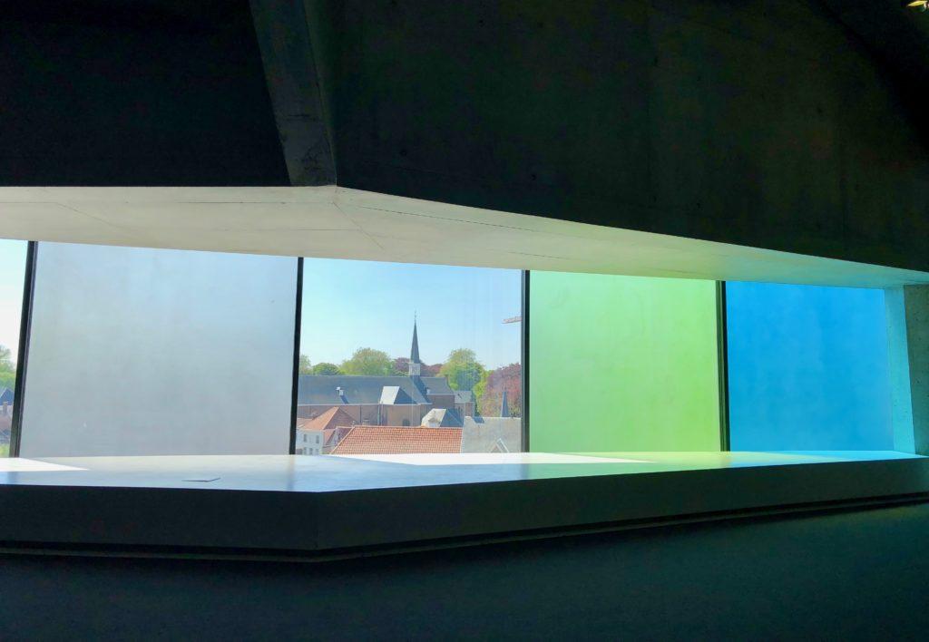 Fenêtres couleur - Concertgebouw Bruges