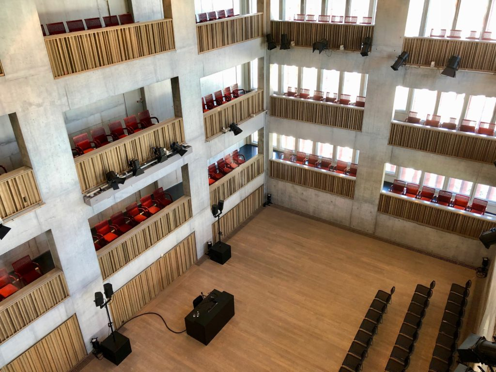 Salle musique de chambre - Concertgebouw Bruges