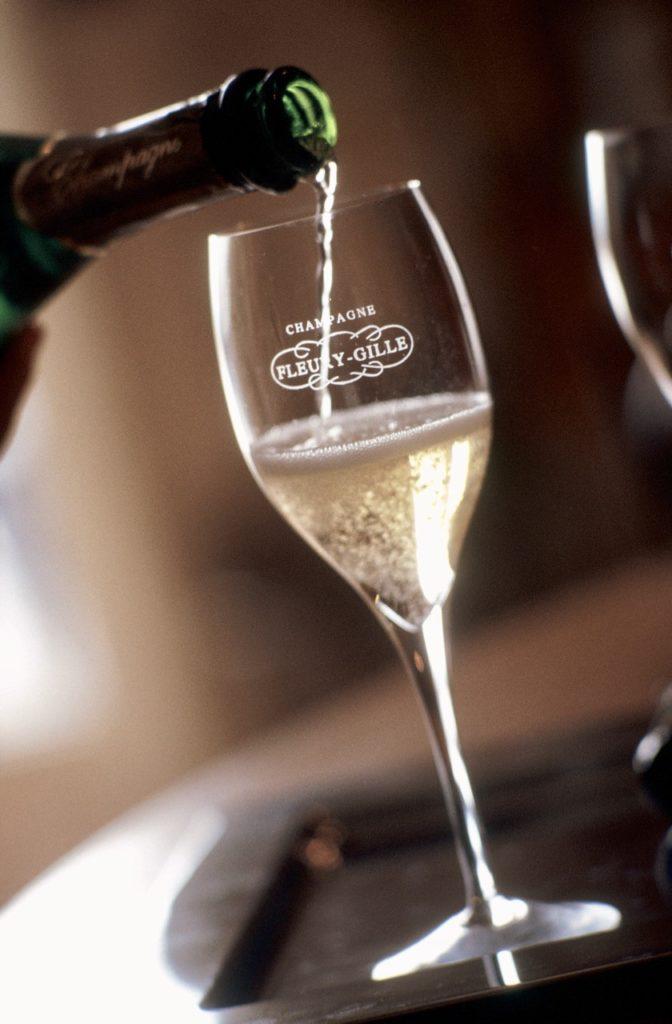 Champagne maison Fleury-Gille