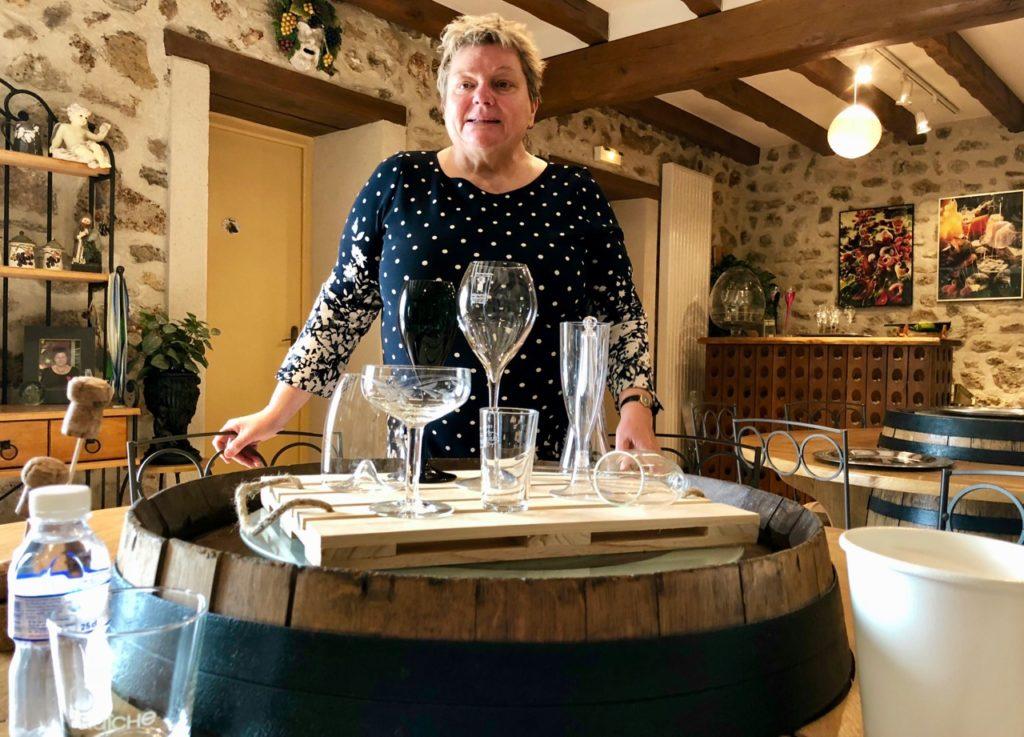 Dominique Fleury de la Maison de champagne Fleury-Gille
