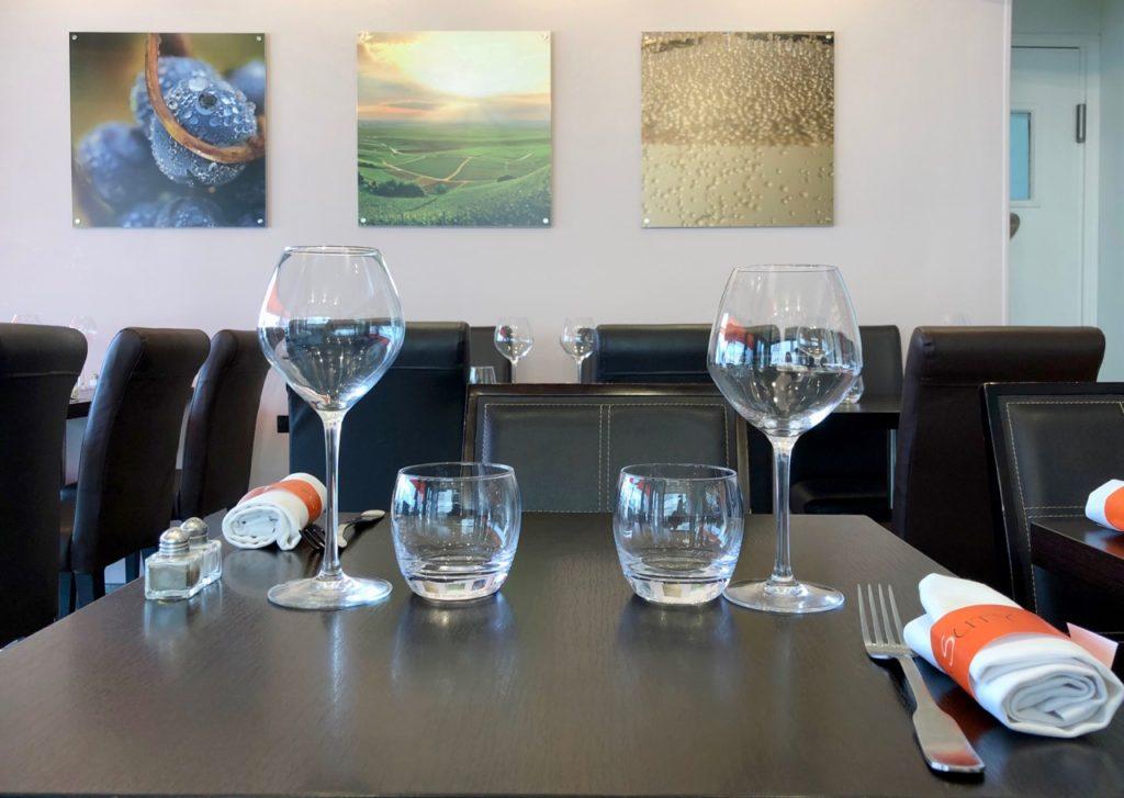 Salle - Sylvain Suty restaurant Dormans Marne