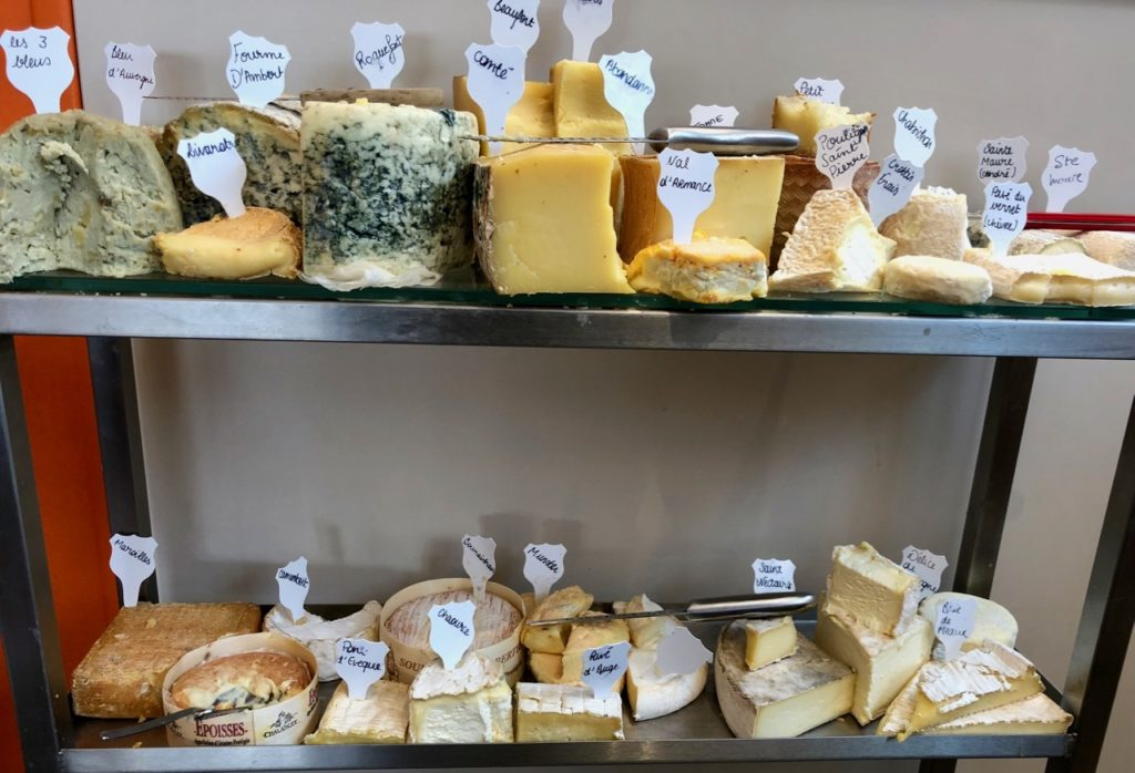 Chariot fromages- Sylvain Suty restaurant Dormans Marne