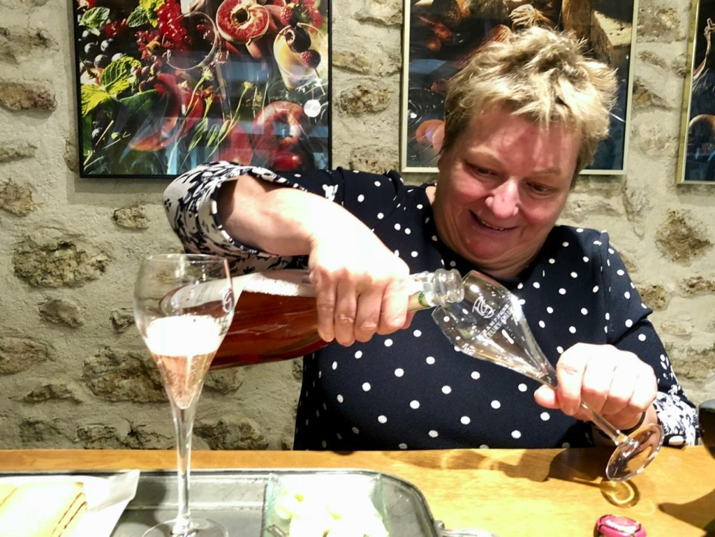 Dominique Fleury de la Maison Fleury-Gille de Trélou-sur-Marne versant du champagne