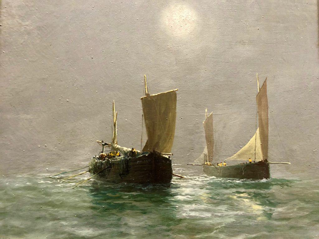 Berck-sur-Mer-musee-opale-sud-jan-lavezzari-marine-soleil-voile