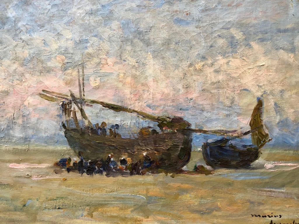 Berck-sur-mer-musee-opale-sud-marius-chambon-bateaux-echoues