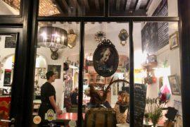 Façade Tatie Danielle - restaurant à Tournai Belgique