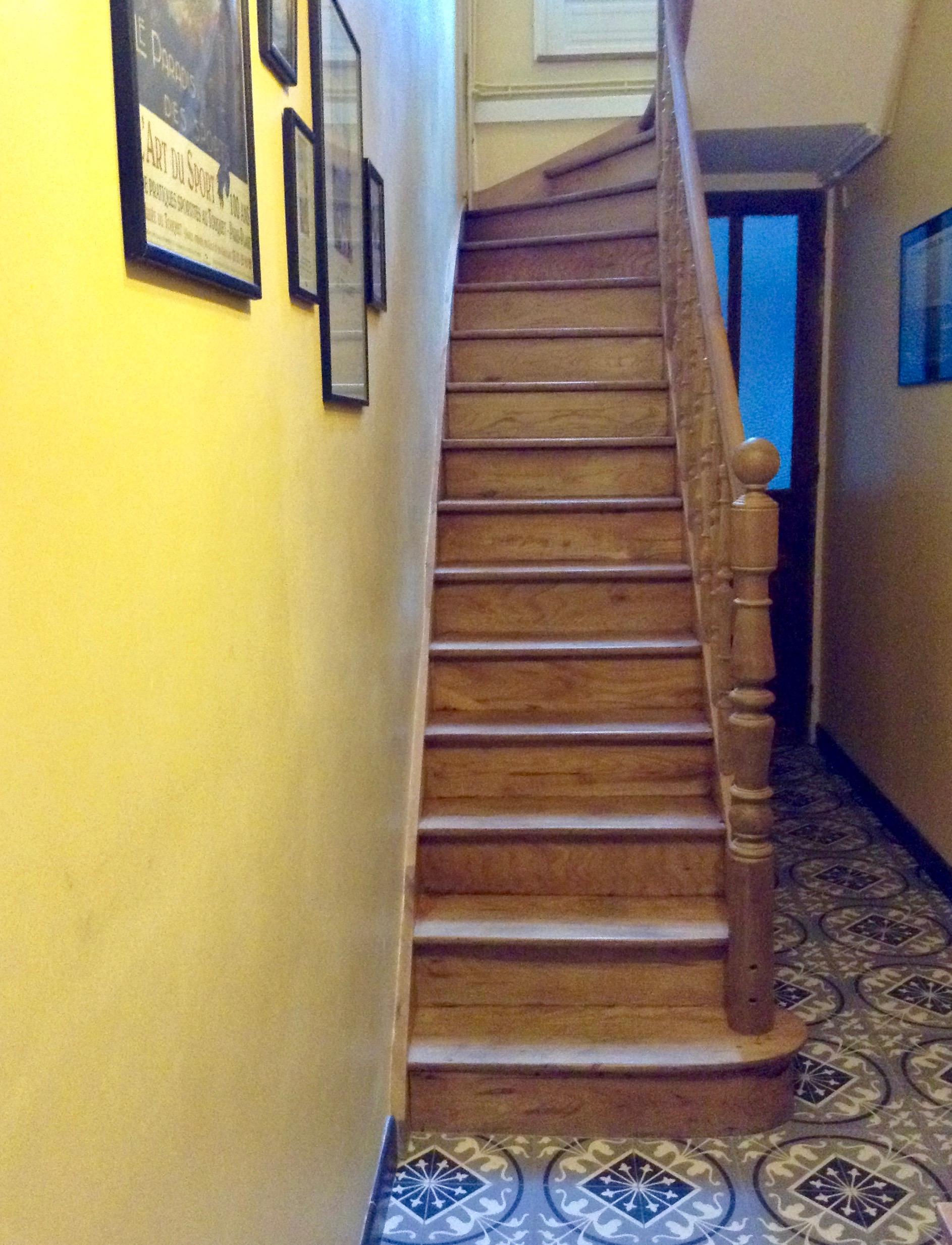 Escalier-couloir-maison-annees-trente - Plus au nord