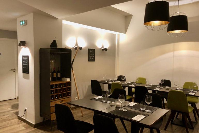 Salle du restaurant L'Epicure à La Madeleine