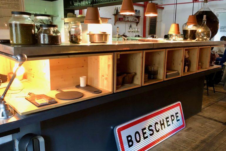 Bloempot restaurant Lille -entrée restaurant