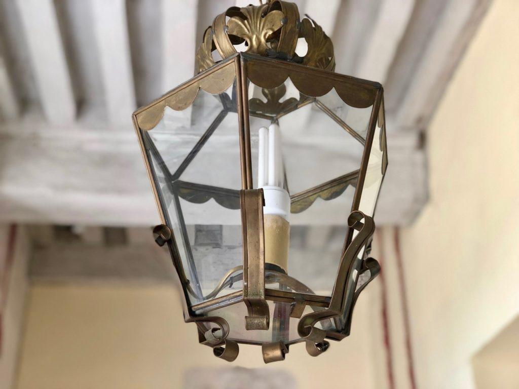 Château Conde-en-Brie - lanterne entrée