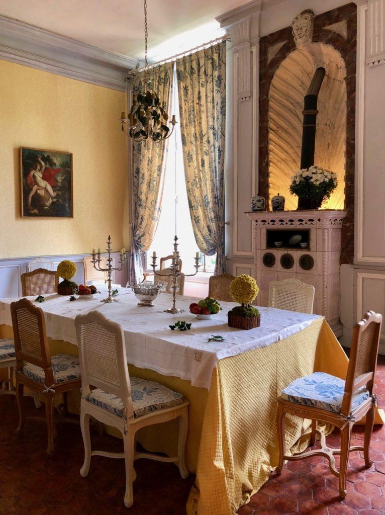 Château Condé-en-Brie - salle-a-manger