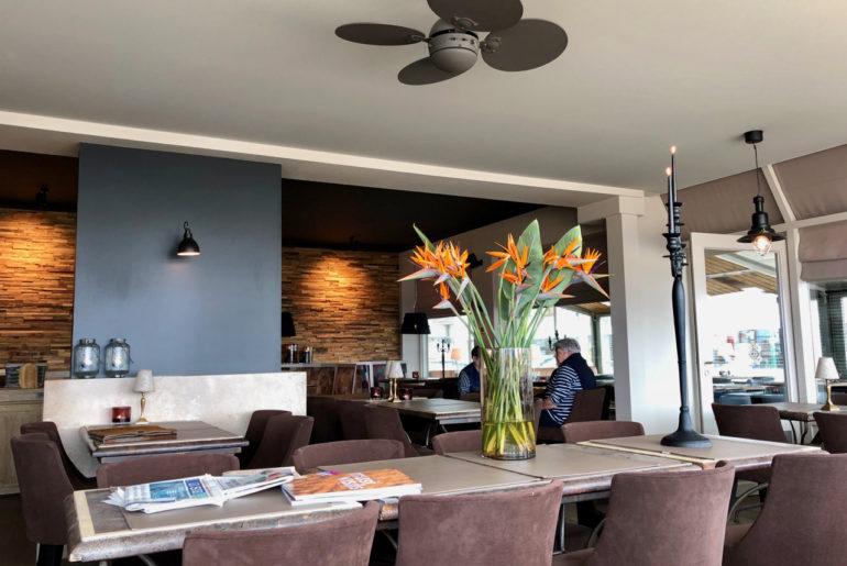 Brasserie Leopold 1 intérieur - La Panne Belgique