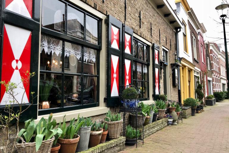 Maison-typique-Gouda-Pays-Bas