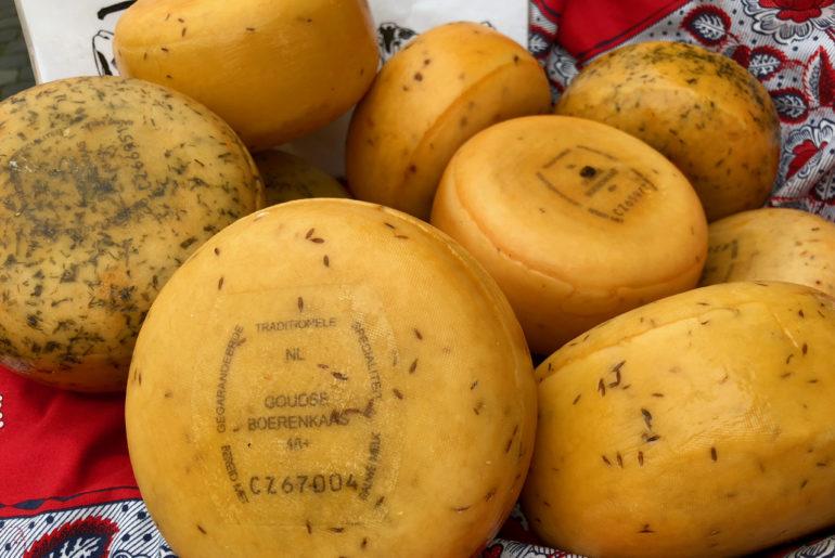 Fromages fermiers au lait cru - Gouda Pays-Bas