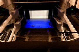 Grande salle vue de haut - Concertgebouw Bruges