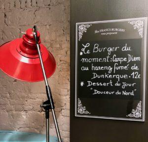 Les Francs Burgers Arras ardoise