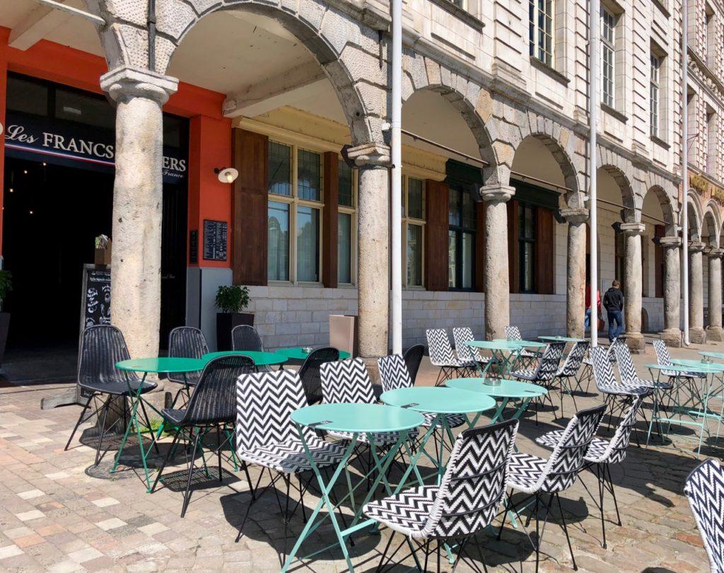 Terrasse Les Francs Burgers Arras